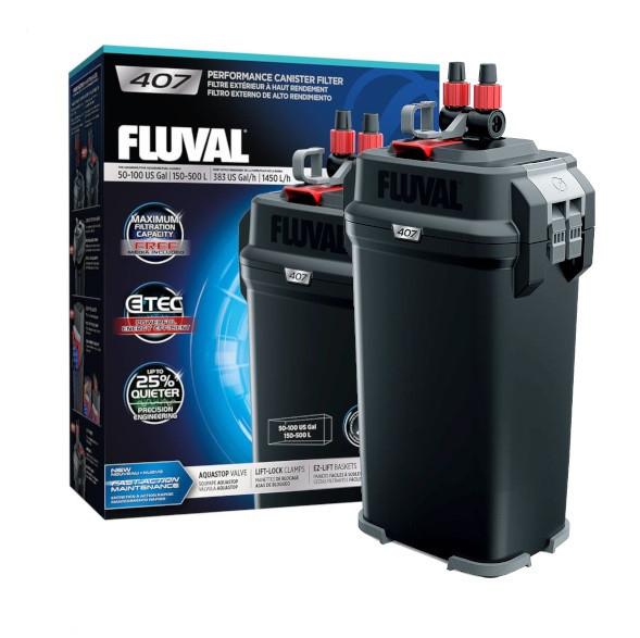Внешний фильтр Hagen Fluval 407 для аквариумов 150-500 л. (A450)