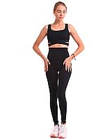 Спортивный костюм Ева черный