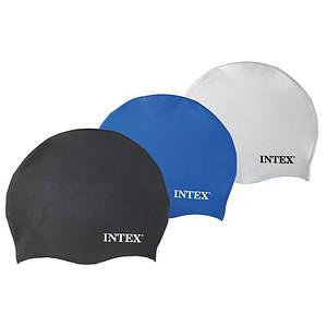 Шапочка для плавання Intex 55991 з силікону для басейну від 8 років