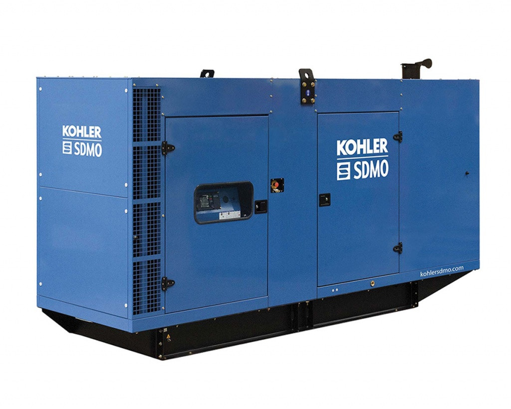 Трехфазный дизельный генератор SDMO V400 C2 (284 кВт) с автоматическим запуском