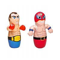 Надувная игрушка-неваляшка Intex 44672 Борец и Боксер надувная игрушка для детей от 3 лет