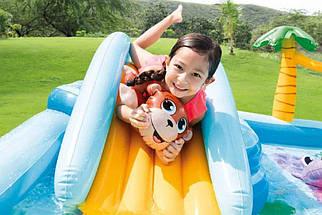 Детский Игровой центр Джунгли Intex 57161 мини-аквапарк надувной бассейн для детей, фото 3