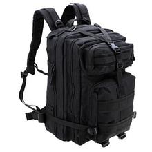 Тактический штурмовой военный рюкзак на 43-45 Traum литров чёрный