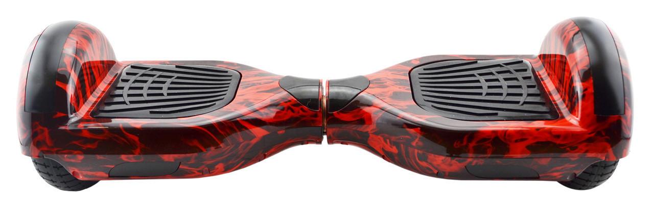 Гироборд 6,5 (самобаланс, подсветка, Bluetooth, сумка) Fire с пультом