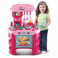"""Дитяча іграшкова кухня з набором посуду """"Маленька розумниця"""""""