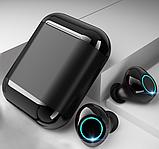 Бездротові Bluetooth-навушники Xvoice S7 TWS чорний, фото 7