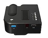 Міні-проектор UNIC 28 з Wi-fi Black, фото 3