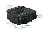 Міні-проектор UNIC 28 з Wi-fi Black, фото 4