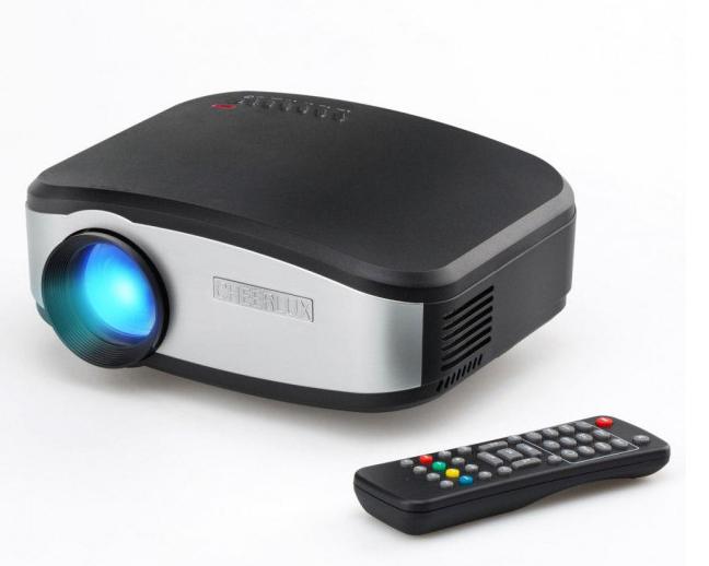 Портативный проектор Cheerlux C6 Черно-серый