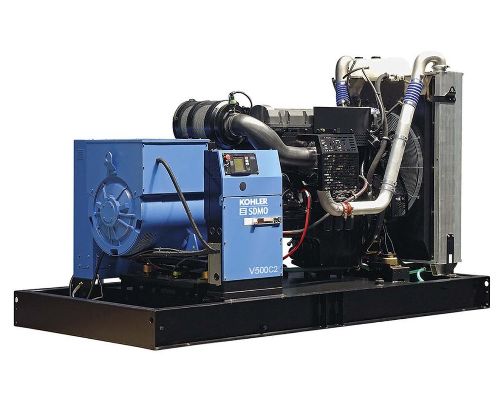Дизельный генератор SDMO V500 C2 (364 кВт)