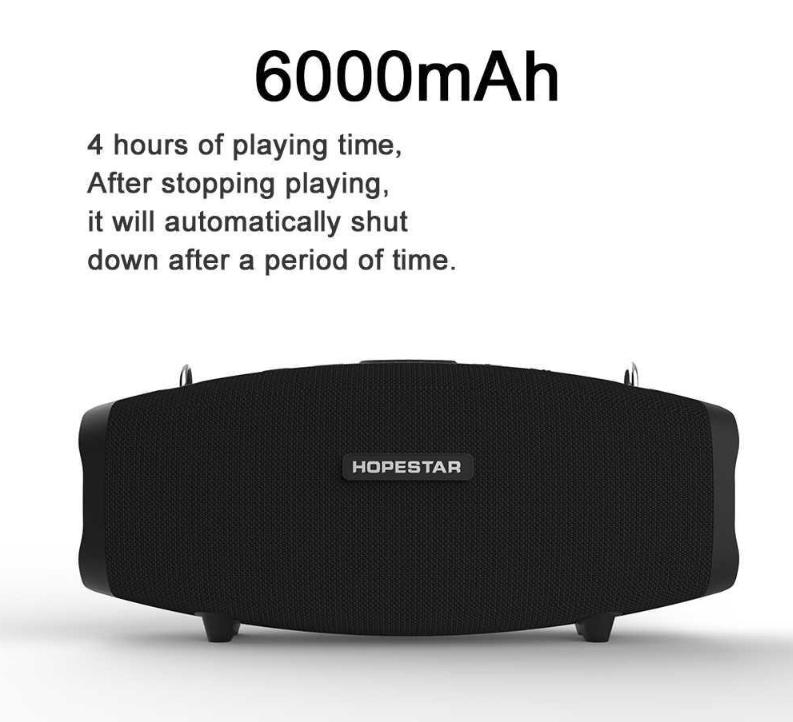 Портативная Bluetooth колонка Hopestar X невероятное звучание