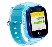 Умные детские часы с видеозвонком Tiroki Q500(DF33) 4G синие
