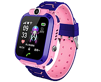 Детские Водонепроницаемые часы с gps Smart baby Q12 голубые и розовые