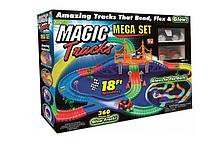 Гоночная трасса-конструктор детский Magic Tracks 360 деталей с перекрестком