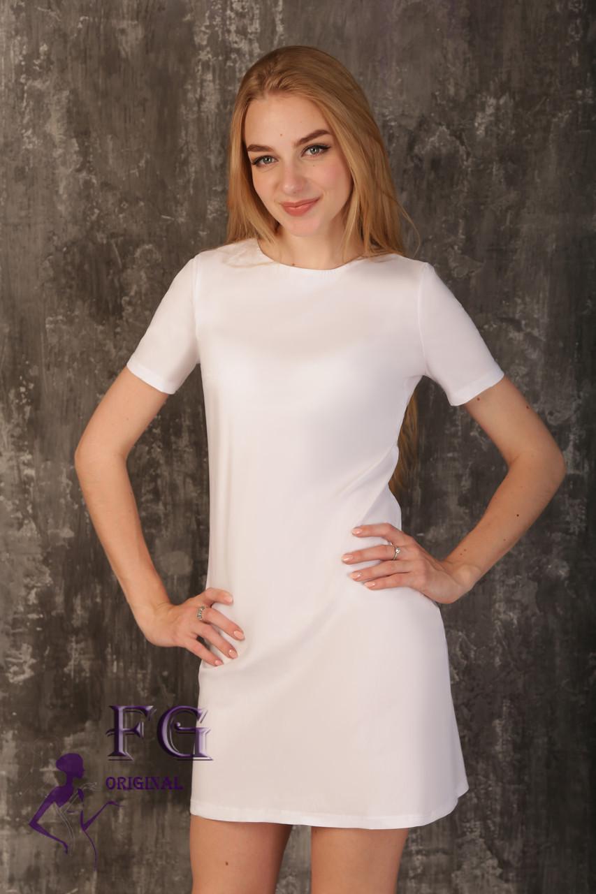 Платье с открытой спиной «Эмбер»| Белые