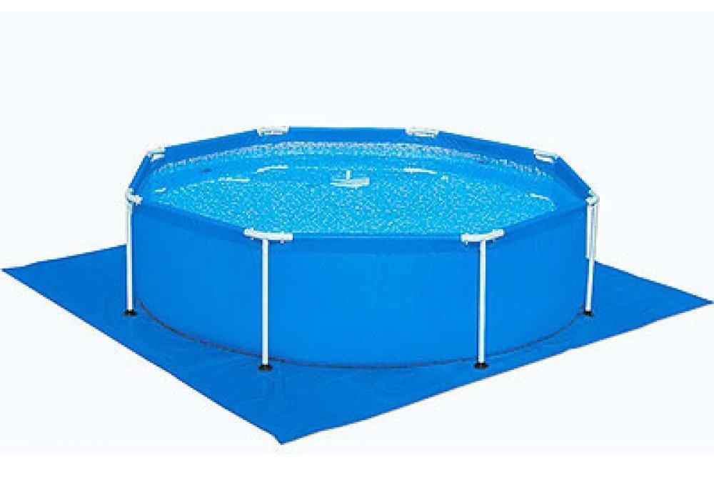 Квадратна підстилка для басейнів 335х335 см Bestway 58001 для басейну від 244 до 305 см