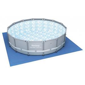 Підстилка для басейнів Bestway 58002 квадратна 396х396 см для басейну до 366 см