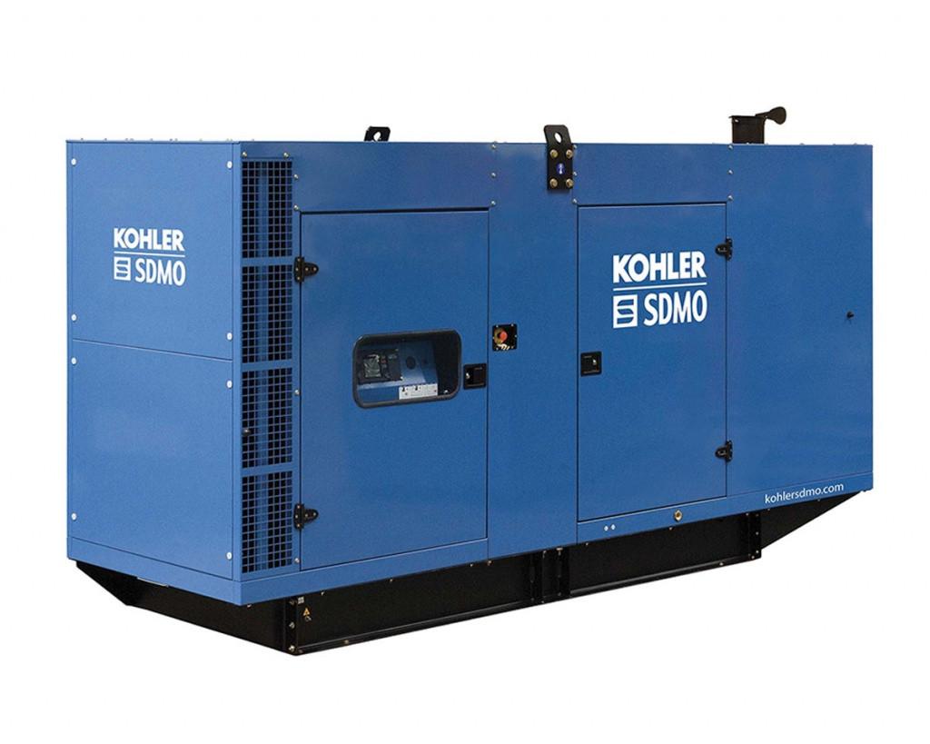 Трехфазный дизельный генератор SDMO V500 C2 (400 кВт) с автоматическим запуском