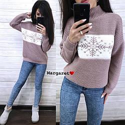 Стильный женский свитер, в расцветках
