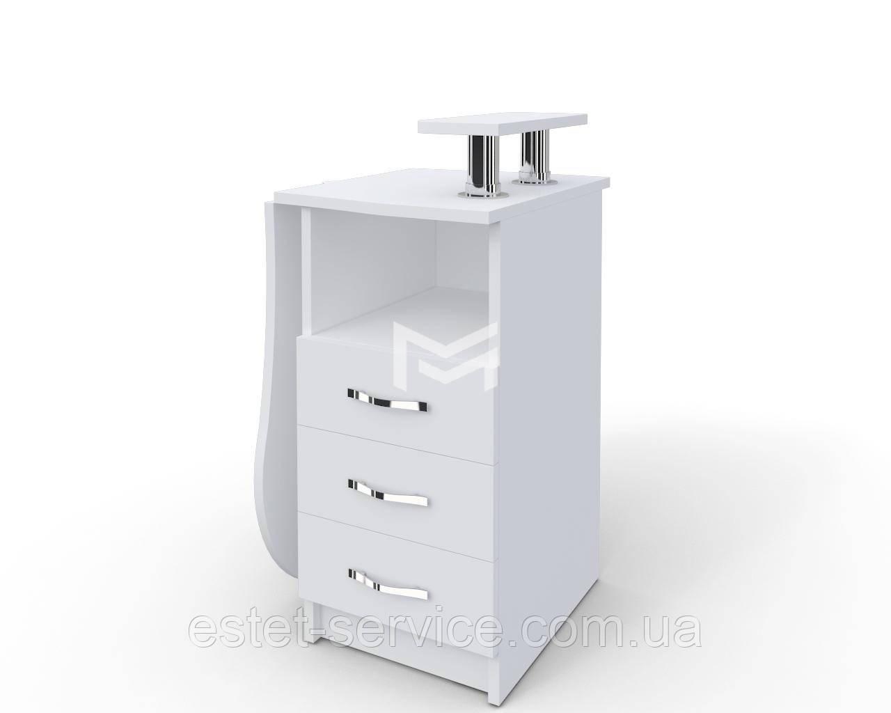 Стол для маникюра Естет компакт №2 со складывающейся столешницей М102K