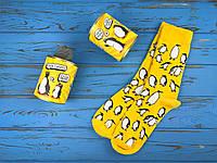 Шкарпетки з стильними пінгвінами для коханої дружини