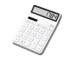 Калькулятор Xiaomi LEMO Lemai Desktop Calculator White 1/Box
