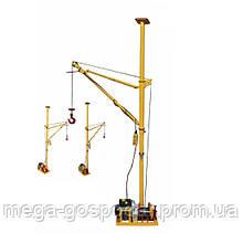 Лебедка электрическая 500кг, строительная лебедка 220в