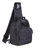 Тактический штурмовой рюкзак 6/25/35/45л Oxford 600D очень крепкий чёрные и оливковый, фото 4