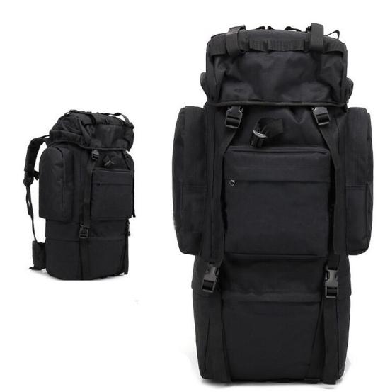 Тактическая туристическая сумка рюкзак 65-75л Oxford 600D военная охотничья крепкая три цвета