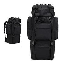 Тактическая туристическая сумка рюкзак 65-75л Oxford 600D военная охотничья крепкая три цвета, фото 1