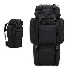 Туристическая сумка рюкзак 65-75л Oxford 600D военная охотничья очень крепкая три цвета