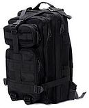 Тактический штурмовой рюкзак 6 25 35 и 45л Oxford 600D очень крепкий чёрные и оливковый, фото 3