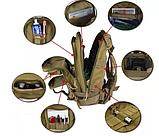 Тактический штурмовой рюкзак 6 25 35 и 45л Oxford 600D очень крепкий чёрные и оливковый, фото 4