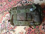 Тактический штурмовой рюкзак 6 25 35 и 45л Oxford 600D очень крепкий чёрные и оливковый, фото 8