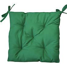 Подушка на стул HALF PANAMA ярко-зеленая