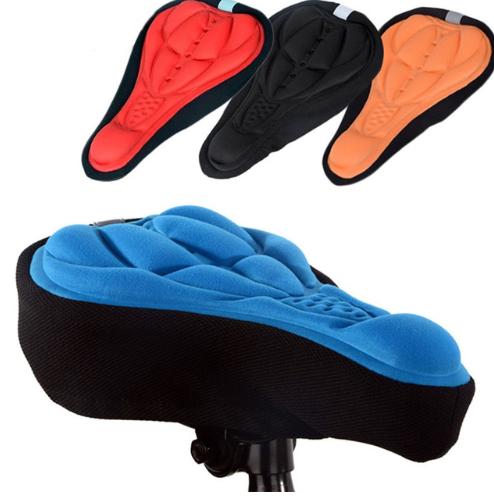 Велосипедные накладки мягкие на седло(чехол)