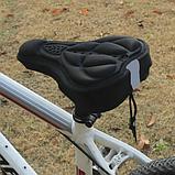 Велосипедные накладки мягкие на седло(чехол), фото 4