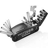 Велосипедный карманный ремонтный набор ключей, фото 3