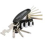 Велосипедный карманный ремонтный набор ключей, фото 10