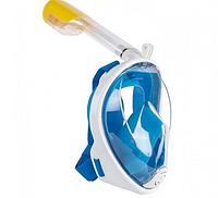 Полнолицевая Маска для плавания Free Breath ныряния сноркелинга, фото 1