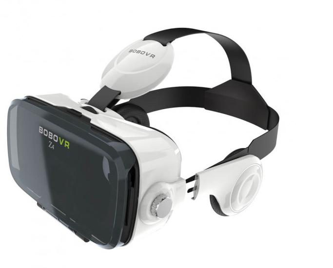 3D очки виртуальной реальности BOBO VR Z4 с пультом и наушниками