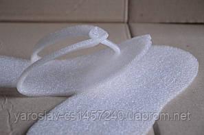Капці-в'єтнамки одноразові для салонів краси( 5мм, губка) 25 пар