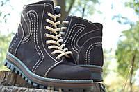 Кожаные женские зимние ботинки на цигейке.АКЦИЯ!!!