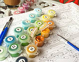 Картина по номерам Brushme Сиреневые хризантемы, 40х50 (GX25350), фото 2