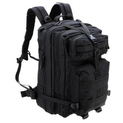 Тактический штурмовой военный рюкзак на 33-35 Traum литров чёрный