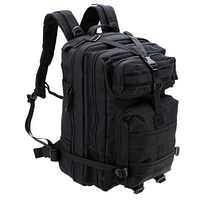 Тактический штурмовой военный рюкзак на 33-35 Traum литров чёрный, фото 1