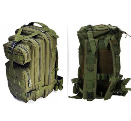 Тактичний штурмової військовий рюкзак на 43-45 Traum літрів зелений