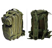 Тактический штурмовой военный рюкзак на 43-45 Traum литров зеленый