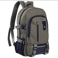 Рюкзак Городской, Повседневный, для Похода, Отдыха, Школы, Студента зеленый, фото 1