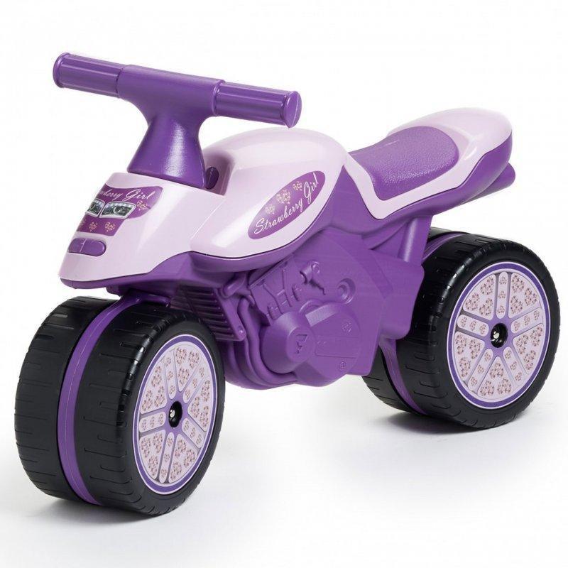 Детский мотоцикл каталка для девочки Falk 408 для детей
